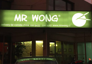 Contacto Delivery Mr Wong